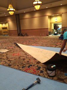 Carpet installation in Denver