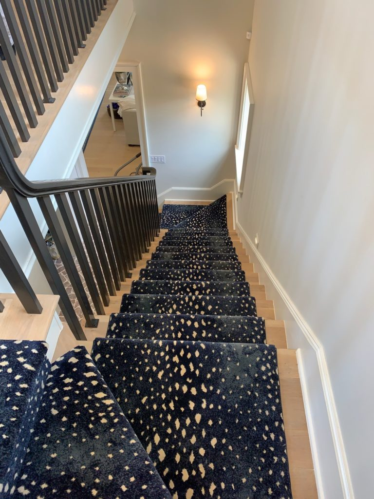 Installing a stair runner in your home is like adding a piece of art to your home