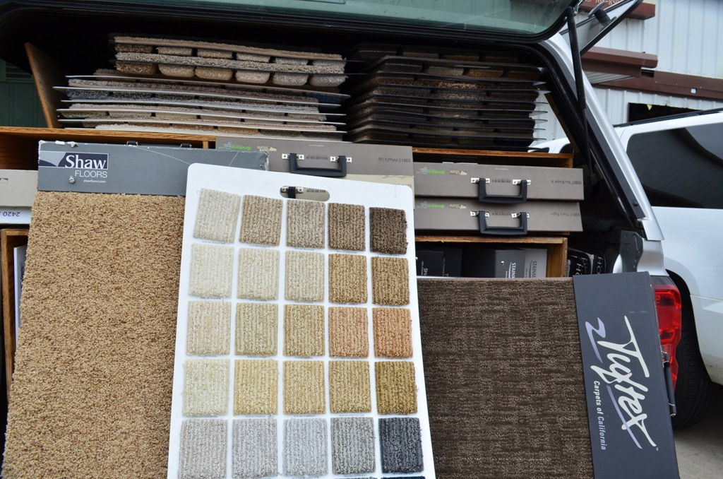 Mobile Carpet Samples